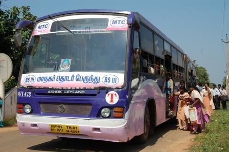 Vel Tech Transport buses