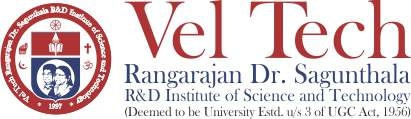 Vel Tech Rangarajan Dr.Sagunthala R & D Institute of Science and Technology Sticky Logo